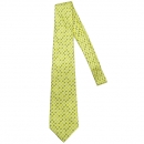 Hermes(에르메스) 옐로우컬러 말 패턴 실크 100% 넥타이 [대구반월당본점]