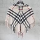 Burberry(버버리) 캐시미어 혼방 체크 패턴 아동용 케이프 자켓 [동대문점]