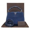 Louis Vuitton(루이비통) N92667 네이비 컬러 토리옹 레더 카푸신(카퓌신) BB 사이즈 토트백 + 숄더 스트랩 2way [부산센텀본점]