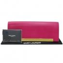 YSL(입생로랑) SAINT LAURENT PARIS(생로랑파리) 324826 핑크컬러 레더 루테티아 금장로고 플랩 클러치 [대구반월당본점]