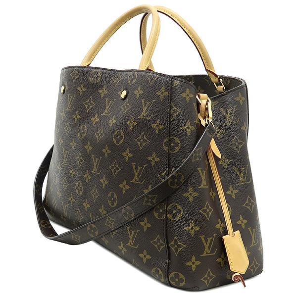 Louis Vuitton(루이비통) M41067 모노그램 캔버스 몽테뉴 GM 토트백 + 숄더스트랩 2WAY [강남본점] 이미지2 - 고이비토 중고명품