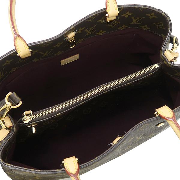 Louis Vuitton(루이비통) M41067 모노그램 캔버스 몽테뉴 GM 토트백 + 숄더스트랩 2WAY [강남본점] 이미지5 - 고이비토 중고명품