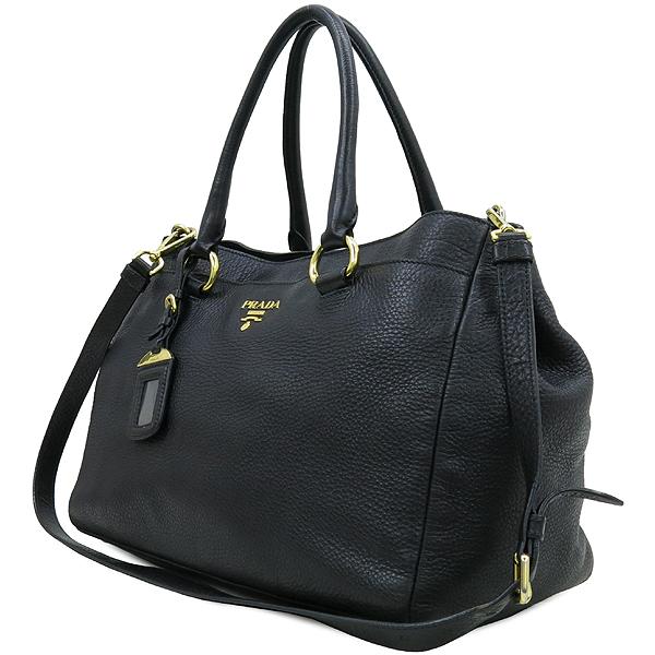 Prada(프라다) 블랙 컬러 비텔로 다이노 2WAY [강남본점] 이미지2 - 고이비토 중고명품