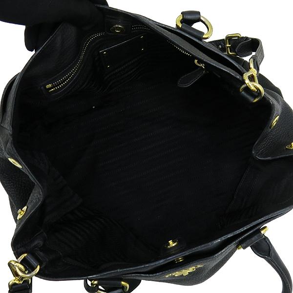 Prada(프라다) 블랙 컬러 비텔로 다이노 2WAY [강남본점] 이미지5 - 고이비토 중고명품