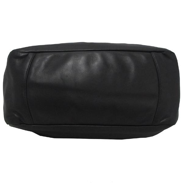 Prada(프라다) BN1689 은장 로고 장식 블랙 램스킨 여성용 토트백 [대구반월당본점] 이미지4 - 고이비토 중고명품