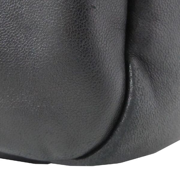 Prada(프라다) BN1689 은장 로고 장식 블랙 램스킨 여성용 토트백 [대구반월당본점] 이미지5 - 고이비토 중고명품