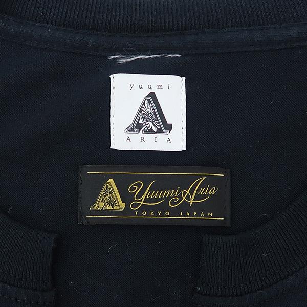 YUUMI ARIA(유우미 아리아) 블랙컬러 커튼 레더 혼방 장식 디테일 원피스 [강남본점] 이미지5 - 고이비토 중고명품