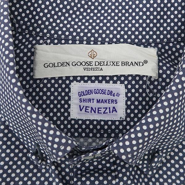 Golden Goose(골든구스) 그레이컬러 화이트도트 디테일 남방 [강남본점] 이미지5 - 고이비토 중고명품