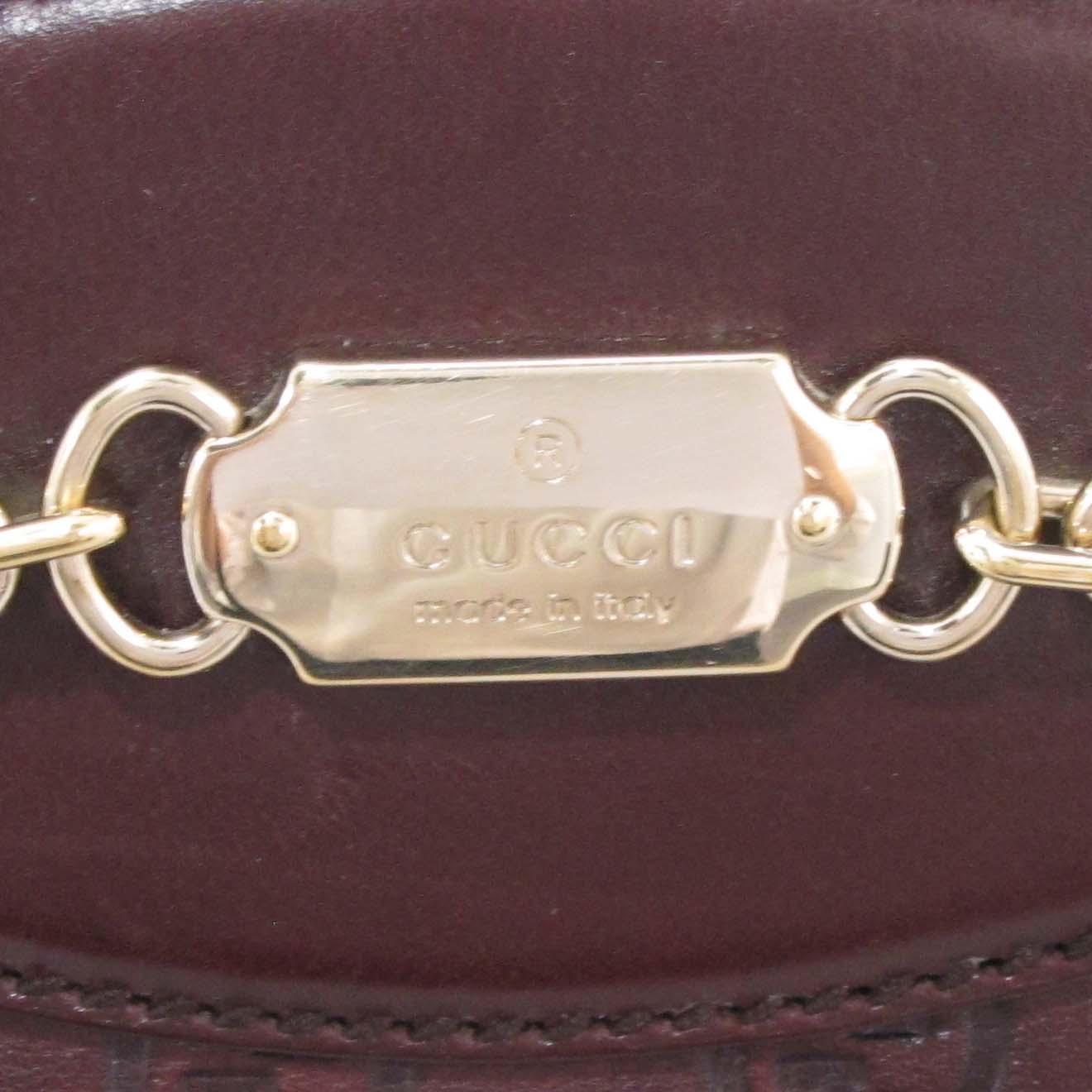 Gucci(구찌) 145785 GG 로고 시마 레더 금장 장식 토트백 [대구반월당본점] 이미지5 - 고이비토 중고명품