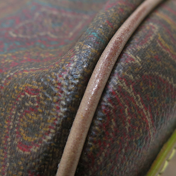 Etro(에트로) 9472 PVC 페이즐리 패턴 브라운 레더 트리밍 토트 겸 숄더백 [인천점] 이미지5 - 고이비토 중고명품