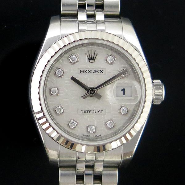 Rolex(로렉스) 179174 10포인트 다이아 컴퓨터판 DATEJUST(데이저스트) 스틸 여성용 시계 [동대문점] 이미지2 - 고이비토 중고명품