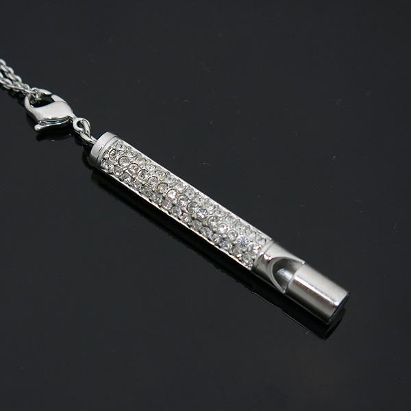 Swarovski(스와로브스키) 크리스탈 장식 Whistle 목걸이 [인천점] 이미지4 - 고이비토 중고명품