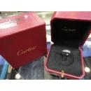 Cartier(까르띠에) B4085100 18K 1P 다이아 화이트골드 미니러브링 w