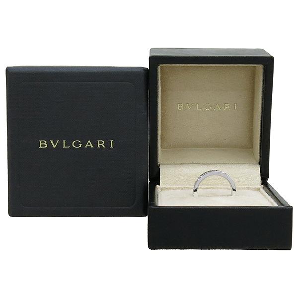 Bvlgari(불가리) AN853348 N853348 18K 화이트 골드 BB 1포인트 다이아 반지 - 9호