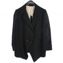 System(시스템) 모 100% 시스루 포인트 블랙 컬러 여성용 자켓 [강남본점]