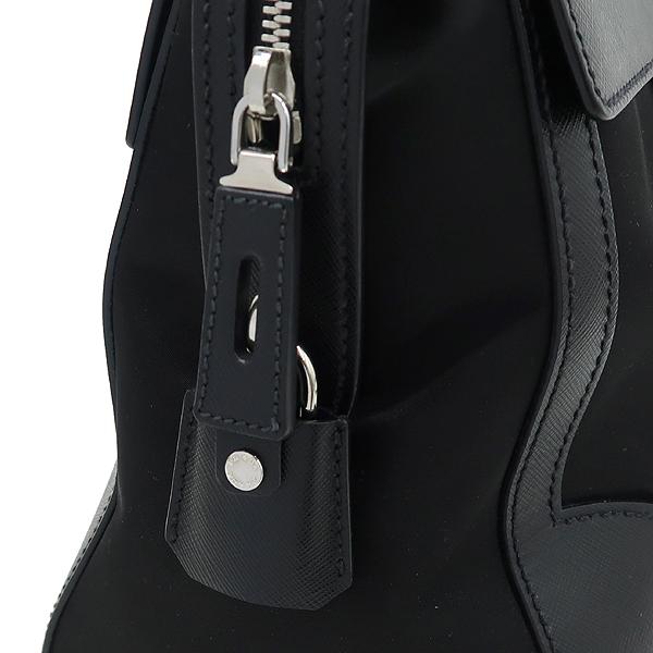 Prada(프라다) 1BA005 사피아노 + 테수토 블랙 탑 핸들 토트백 [강남본점] 이미지5 - 고이비토 중고명품