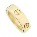 Cartier(까르띠에) 18K 옐로우골드 더블 Love ring 러브 링 웨딩 밴드 반지 [강남본점]