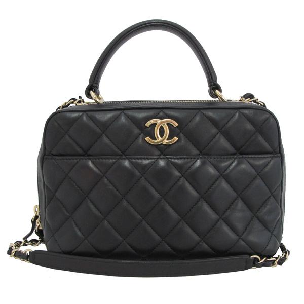 Chanel(샤넬) A69924 COCO 금장 로고 블랙 램스킨 Bowling(볼링) 금장 체인 2WAY [대구동성로점] 이미지2 - 고이비토 중고명품