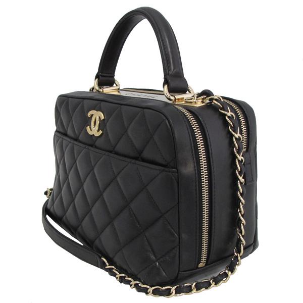 Chanel(샤넬) A69924 COCO 금장 로고 블랙 램스킨 Bowling(볼링) 금장 체인 2WAY [대구동성로점] 이미지3 - 고이비토 중고명품