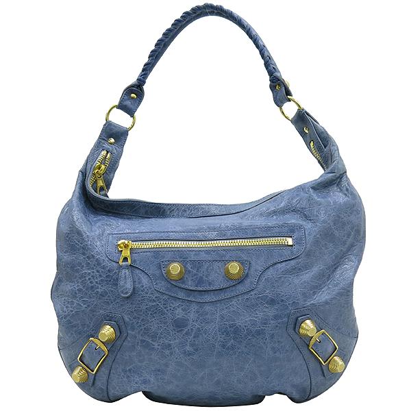 Balenciaga(발렌시아가) 177288 스카이 블루 컬러 호보 자이언트 숄더백 [강남본점] 이미지2 - 고이비토 중고명품