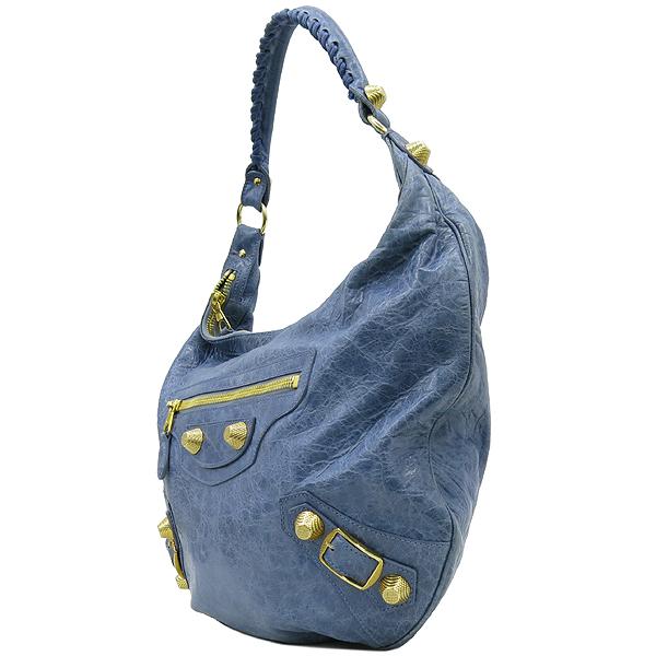 Balenciaga(발렌시아가) 177288 스카이 블루 컬러 호보 자이언트 숄더백 [강남본점] 이미지3 - 고이비토 중고명품