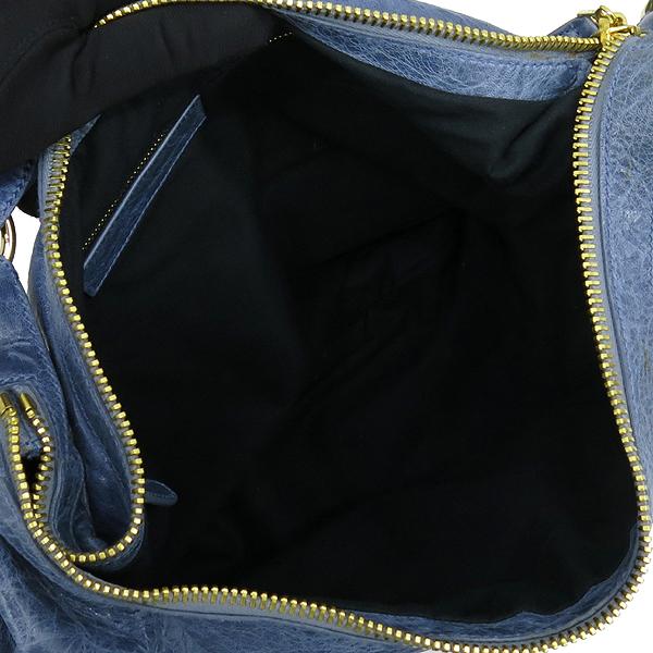 Balenciaga(발렌시아가) 177288 스카이 블루 컬러 호보 자이언트 숄더백 [강남본점] 이미지6 - 고이비토 중고명품