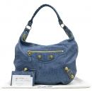 Balenciaga(발렌시아가) 177288 스카이 블루 컬러 호보 자이언트 숄더백 [강남본점]