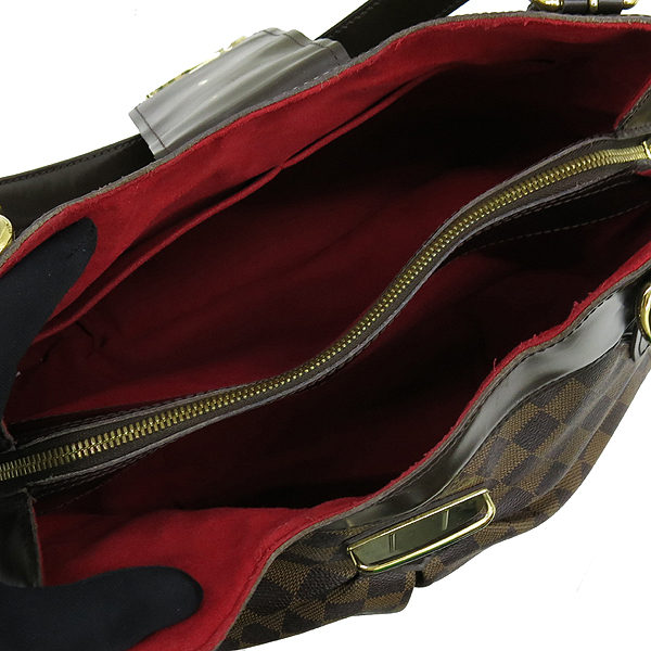 Louis Vuitton(루이비통) N41541 다미에 에벤 캔버스 시스티나MM 숄더백 [강남본점] 이미지5 - 고이비토 중고명품