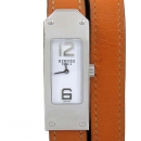 Hermes(에르메스) KT1.210 KELLY 켈리 오렌지컬러 레더 더블밴드 여성용시계