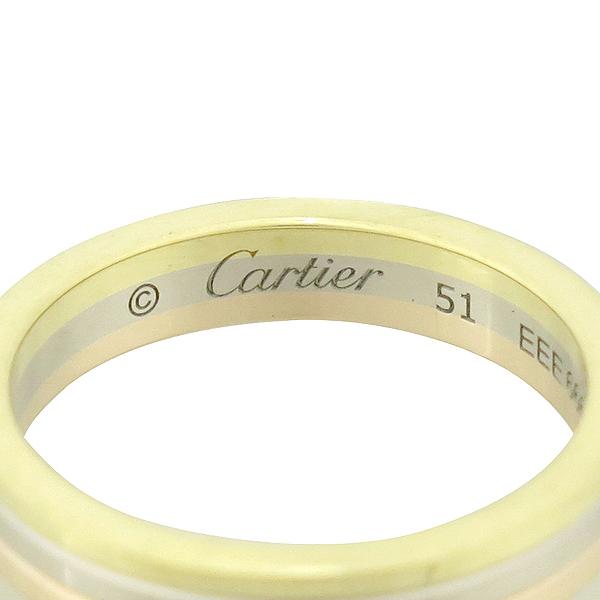 Cartier(까르띠에) B4052251 18K 삼색골드 Trinity wedding band 트리니티 웨딩 밴드 반지 - 11호 [대구동성로점] 이미지4 - 고이비토 중고명품