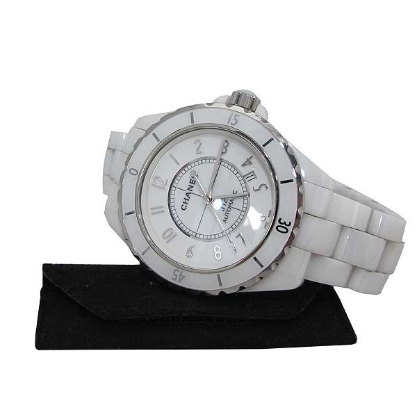 Chanel(샤넬) H2981 화이트 세라믹 J12 오토매틱 42mm 남성용 시계 [대전본점]