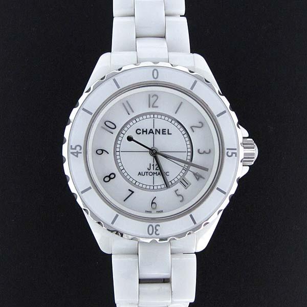 Chanel(샤넬) H2981 화이트 세라믹 J12 오토매틱 42mm 남성용 시계 [대전본점] 이미지2 - 고이비토 중고명품