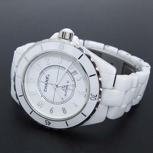 Chanel(샤넬) H2981 화이트 세라믹 J12 오토매틱 42mm 남성용 시계 [대전본점] 이미지3 - 고이비토 중고명품