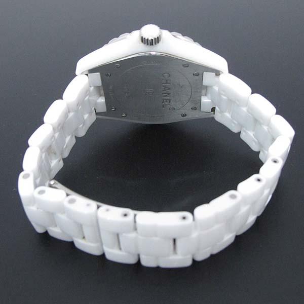 Chanel(샤넬) H2981 화이트 세라믹 J12 오토매틱 42mm 남성용 시계 [대전본점] 이미지4 - 고이비토 중고명품