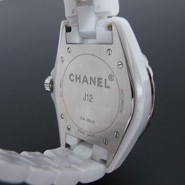 Chanel(샤넬) H2981 화이트 세라믹 J12 오토매틱 42mm 남성용 시계 [대전본점] 이미지5 - 고이비토 중고명품