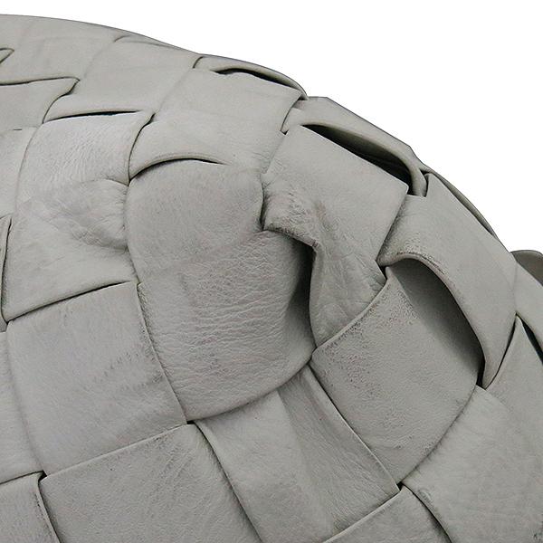 JIMMY CHOO(지미추) 아이보리 위빙 래더 뱀피네임텍 로고장식 호보 숄더백 [부산센텀본점] 이미지5 - 고이비토 중고명품
