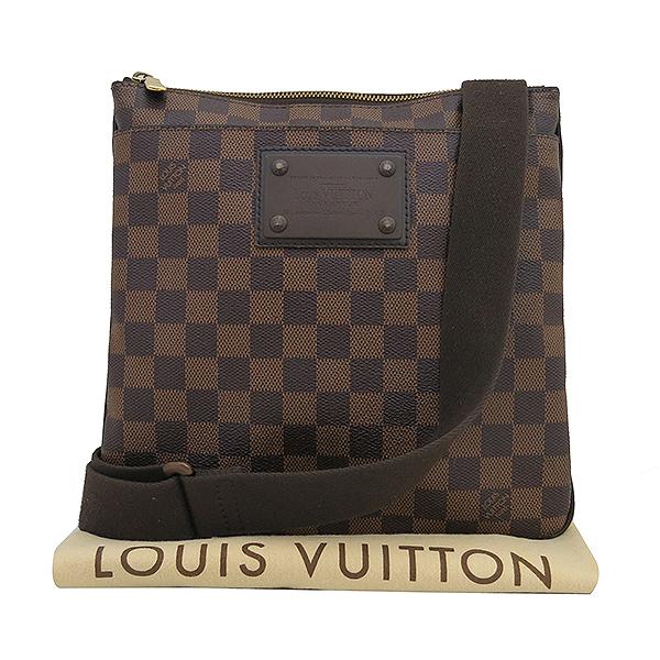 Louis Vuitton(루이비통) N41100 다미에 에벤 포쉐트 부르클린 메신저 크로스백 [부산센텀본점]
