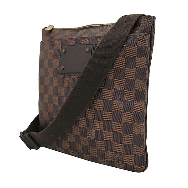 Louis Vuitton(루이비통) N41100 다미에 에벤 포쉐트 부르클린 메신저 크로스백 [부산센텀본점] 이미지3 - 고이비토 중고명품
