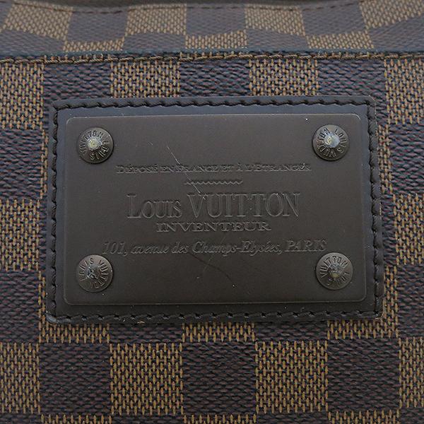 Louis Vuitton(루이비통) N41100 다미에 에벤 포쉐트 부르클린 메신저 크로스백 [부산센텀본점] 이미지4 - 고이비토 중고명품