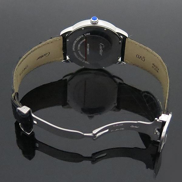 Cartier(까르띠에) W6701010 RONDE SOLO (론드 솔로) XL 오토매틱 가죽밴드 남성용 시계 [부산센텀본점] 이미지4 - 고이비토 중고명품
