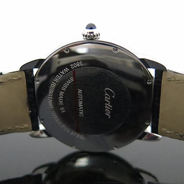 Cartier(까르띠에) W6701010 RONDE SOLO (론드 솔로) XL 오토매틱 가죽밴드 남성용 시계 [부산센텀본점] 이미지5 - 고이비토 중고명품