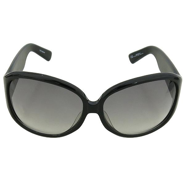 YSL(입생로랑) 측면 크리스탈 로고 장식 블랙 뿔태 선글라스 [강남본점] 이미지3 - 고이비토 중고명품