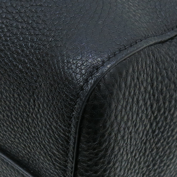 Prada(프라다) 1BG058 VIT.DAINO 블랙 레더 토트백 + 스트랩 [강남본점] 이미지5 - 고이비토 중고명품