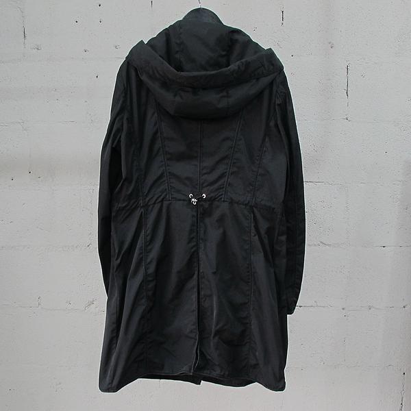 MONCLER(몽클레어) ANTHEMIS 블랙 컬러 후드 여성용 롱자켓 [동대문점]