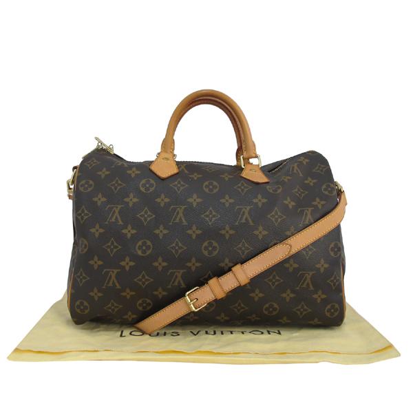 Louis Vuitton(루이비통) M40392 모노그램 캔버스 반둘리에 스피디 35 토트백 + 숄더스트랩 2WAY [대구동성로점]