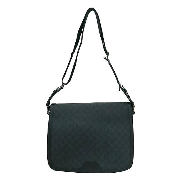 Gucci(구찌) 322068 블랙 컬러 GG 로고 PVC 메신저 크로스백 [부산센텀본점]