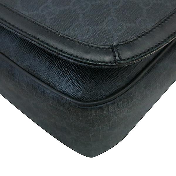 Gucci(구찌) 322068 블랙 컬러 GG 로고 PVC 메신저 크로스백 [부산센텀본점] 이미지3 - 고이비토 중고명품