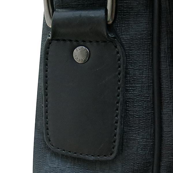 Gucci(구찌) 322068 블랙 컬러 GG 로고 PVC 메신저 크로스백 [부산센텀본점] 이미지4 - 고이비토 중고명품