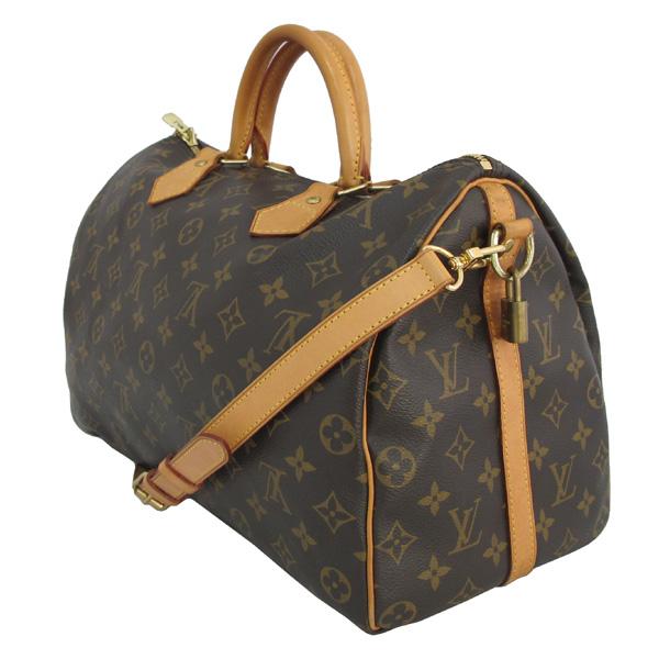 Louis Vuitton(루이비통) M40392 모노그램 캔버스 반둘리에 스피디 35 토트백 + 숄더스트랩 2WAY [대구동성로점] 이미지3 - 고이비토 중고명품