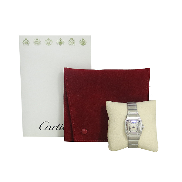 Cartier(까르띠에) W20056D6 산토스 갈베 S 사이즈 쿼츠 스틸 여성용 시계 [동대문점]
